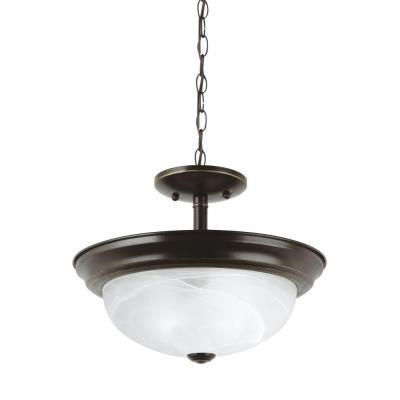 Sea Gull Lighting 77950-782 Windgate - Two Light Convertible Semi-Flush Mount