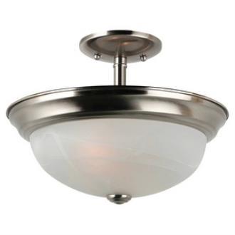 Sea Gull Lighting 77950-962 Windgate - Two Light Convertible Semi-Flush Mount
