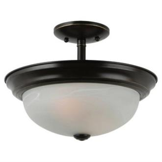 Sea Gull Lighting 77950BLE-782 Windgate - Two Light Convertible Semi-Flush Mount