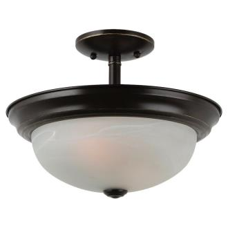 Sea Gull Lighting 77950BLE-782 Windgate - Two Light Convertible Semi-Flush Mount