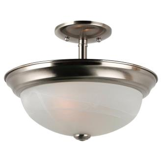 Sea Gull Lighting 77950BLE-962 Windgate - Two Light Convertible Semi-Flush Mount