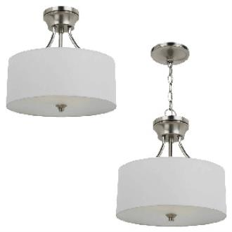 Sea Gull Lighting 77952BLE-962 Stirling - Two Light Convertible Semi-Flush Mount