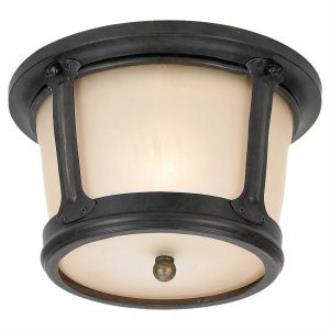 Sea Gull Lighting 78240-780 Single Light Outdoor Flush Mount