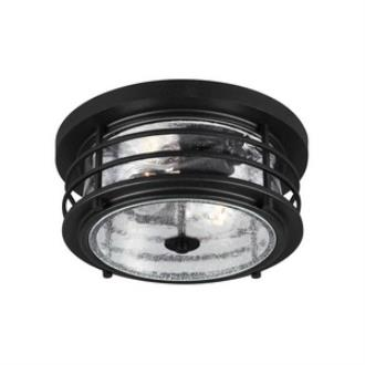 Sea Gull Lighting 7824402-12 Sauganash - Two Light Outdoor Flush Mount