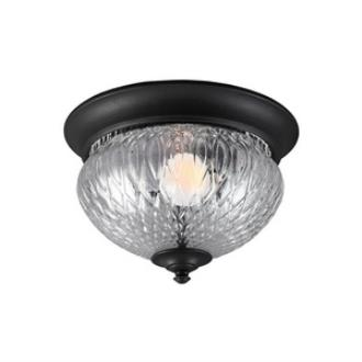 Sea Gull Lighting 7826401BLE-12 Garfield Park - One Light Outdoor Flush Mount