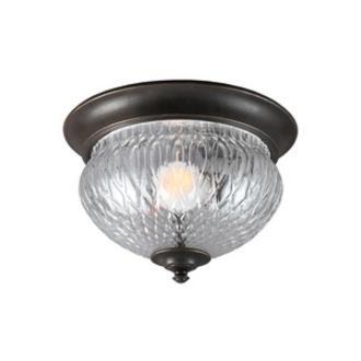 Sea Gull Lighting 7826401BLE-780 Garfield Park - One Light Outdoor Flush Mount