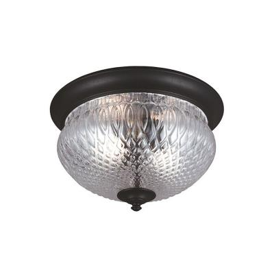 Sea Gull Lighting 7826402BLE-12 Garfield Park - Two Light Outdoor Flush Mount