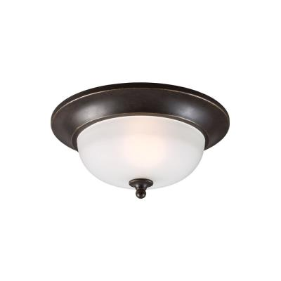 Sea Gull Lighting 7827401-780 Humboldt Park - One Light Outdoor Flush Mount