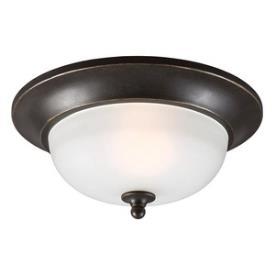 Sea Gull Lighting 7827401BLE-780 Humboldt Park - One Light Outdoor Flush Mount