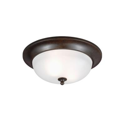 Sea Gull Lighting 7827402-780 Humboldt Park - Two Light Outdoor Flush Mount