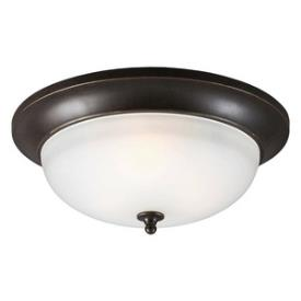 Sea Gull Lighting 7827403-780 Humboldt Park - Three Light Outdoor Flush Mount