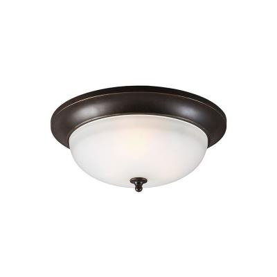 Sea Gull Lighting 7827403BLE-780 Humboldt Park - Three Light Outdoor Flush Mount