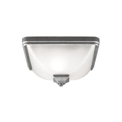 Sea Gull Lighting 7828401-57 Irving Park - One Light Outdoor Flush Mount