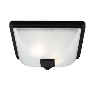 Sea Gull Lighting 7828402-12 Irving Park - Two Light Outdoor Flush Mount