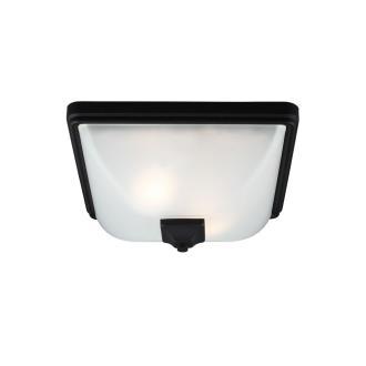 Sea Gull Lighting 7828402-12 Irving Park - Two Light Outdoor Flush Mount