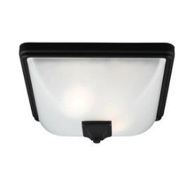 Sea Gull Lighting 7828402BLE-12 Irving Park - Two Light Outdoor Flush Mount