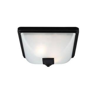 Sea Gull Lighting 7828402BLE-12 Irving Park - Two Light Outdoor Flush Mount