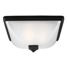 Sea Gull Lighting 7828403-12 Irving Park - Three Light Outdoor Flush Mount