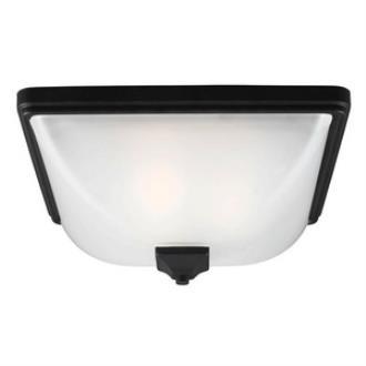 Sea Gull Lighting 7828403-12 Irving Park - Three Light Outdoor Flush Mount