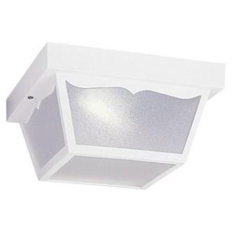 Sea Gull Lighting 79121BLE-15 One Light Outdoor Flush Mount