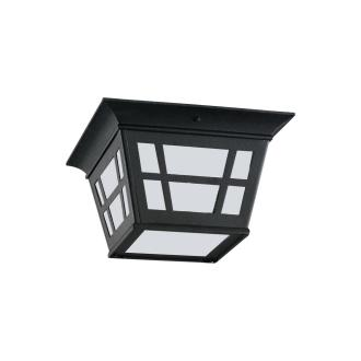 Sea Gull Lighting 79131BLE-12 Herrington - One Light Outdoor Flush Mount