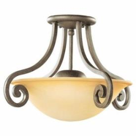 Sea Gull Lighting 79132BLE-71 Brandywine - One Light Close to Ceiling Flush Mount