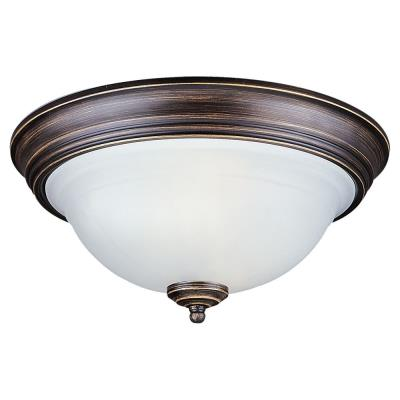 Sea Gull Lighting 79150BLE Canterbury - Two Light Close to Ceiling Flush Mount