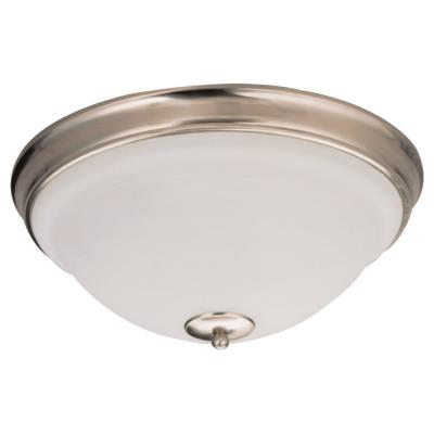 Sea Gull Lighting 79158BLE-962 Serenity - Three Light Flush Mount
