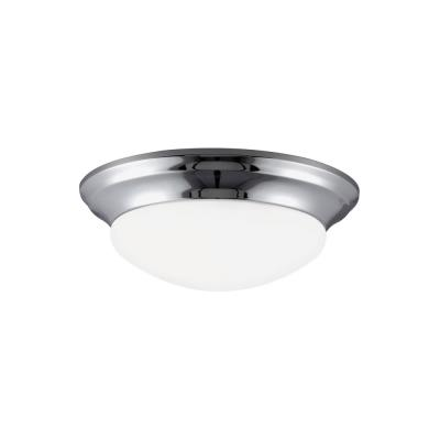 Sea Gull Lighting 79434BLE Nash - One Light Flush Mount