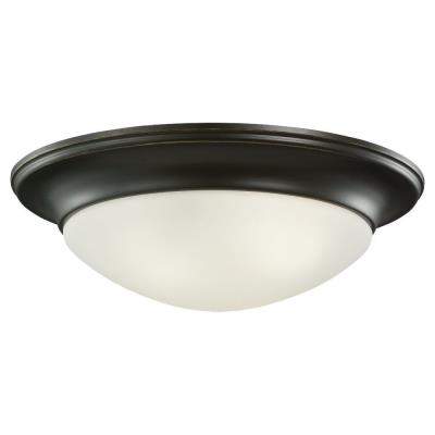 Sea Gull Lighting 79436BLE Nash - Three Light Ceiling Flush Mount