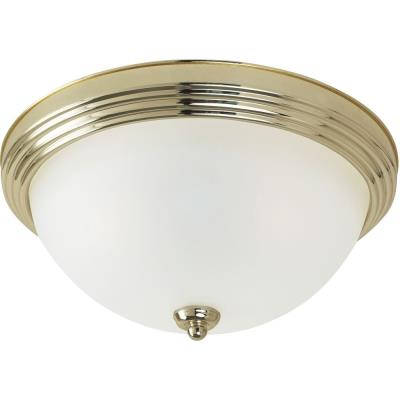Sea Gull Lighting 79565BLE-02 Three Light Flush Mount