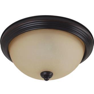 Sea Gull Lighting 79565BLE-710 Three Light Flush Mount