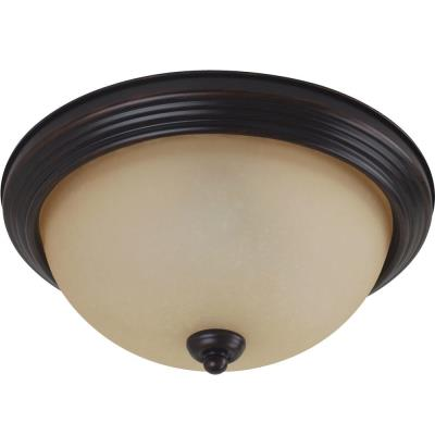 Sea Gull Lighting 79565BLE-710 Three Light Flush Mount