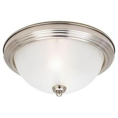Sea Gull Lighting 79565BLE-96 Three Light Flush Mount
