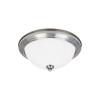 Sea Gull Lighting 79565BLE Three Light Flush Mount
