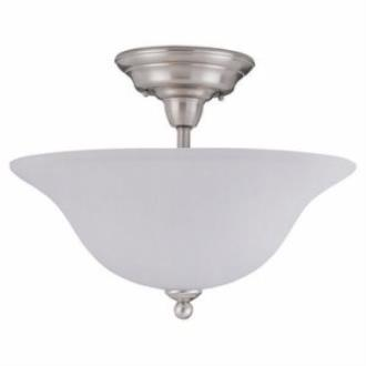 Sea Gull Lighting 79661BLE Sussex - Three Light Close to Ceiling Flush Mount