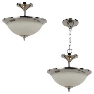 Sea Gull Lighting 79771BLE-841 Solana - Two Light Close to Ceiling Flush Mount