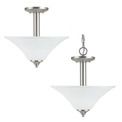 Sea Gull Lighting 79806BLE-962 Holman - Two Light Semi-Flush Mount