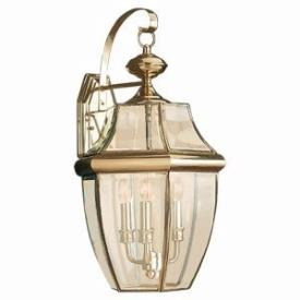 Sea Gull Lighting 8040-02 Three Light Outdoor Wall Fixture