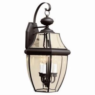 Sea Gull Lighting 8040-12 Three Light Outdoor Wall Fixture