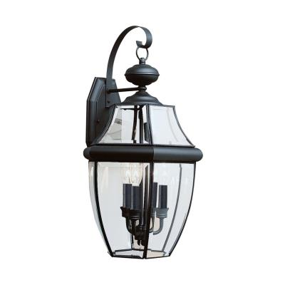 Sea Gull Lighting 8040-12 Three Light Outdoor Wall Fixture