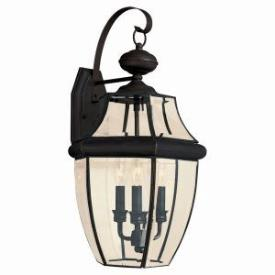 Sea Gull Lighting 8040-71 Three Light Outdoor Wall Fixture