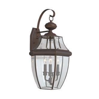 Sea Gull Lighting 8040-71 Three Light Outdoor Wall Fixture