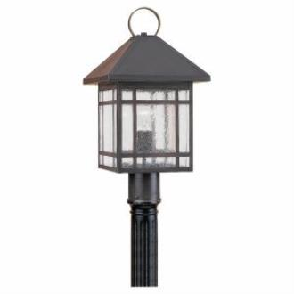 Sea Gull Lighting 82007-71 Single-light Largo Post Lantern