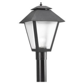 Sea Gull Lighting 82065BL-12 One Light Outdoor Post Lantern