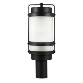 Sea Gull Lighting 8222401BL-12 Bucktown - One Light Outdoor Post Lantern