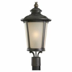 Sea Gull Lighting 82240-780 Single Light Outdoor Post Lantern
