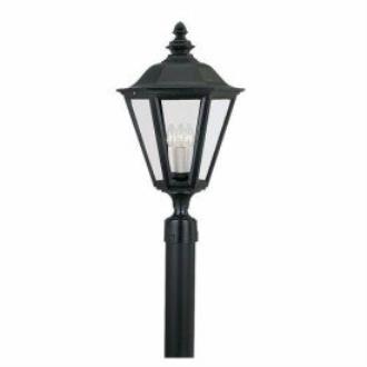 Sea Gull Lighting 8231-12 Three Light Outdoor Post Fixture