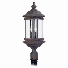 Sea Gull Lighting 8238-08 Three Light Outdoor Post Fixture