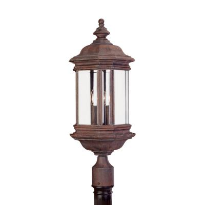 Sea Gull Lighting 8238-08 Three Light Outdoor Post Fixture